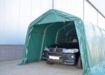 Carport PVC 3,3 x 9,6 x 2,6 meter in Groen