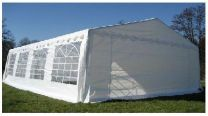 Classic Plus Partytent PVC 3x3x2 mtr in Wit